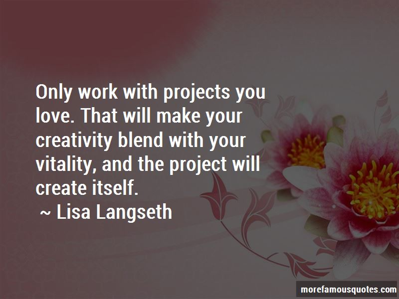 Lisa Langseth Quotes Pictures 2