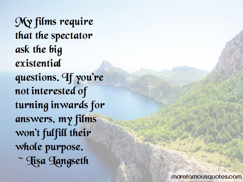 Lisa Langseth Quotes Pictures 3