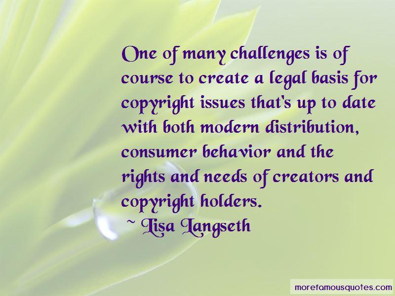 Lisa Langseth Quotes