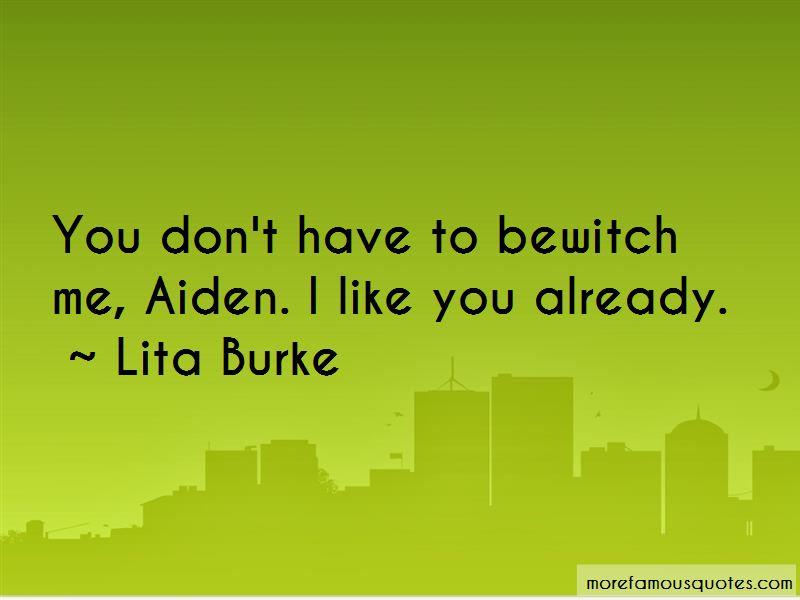 Lita Burke Quotes Pictures 3