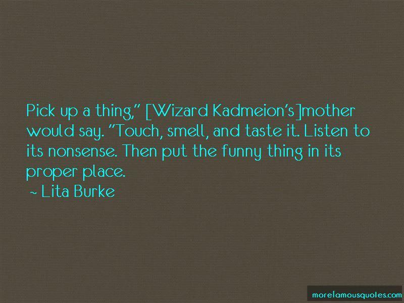 Lita Burke Quotes Pictures 4