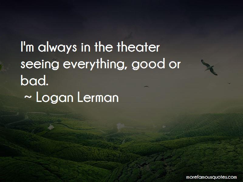Logan Lerman Quotes Pictures 2