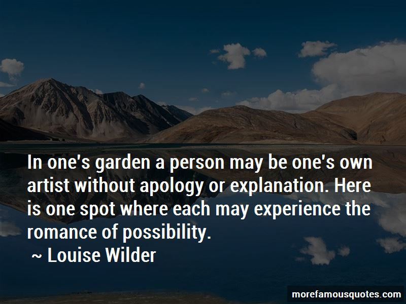 Louise Wilder Quotes Pictures 2