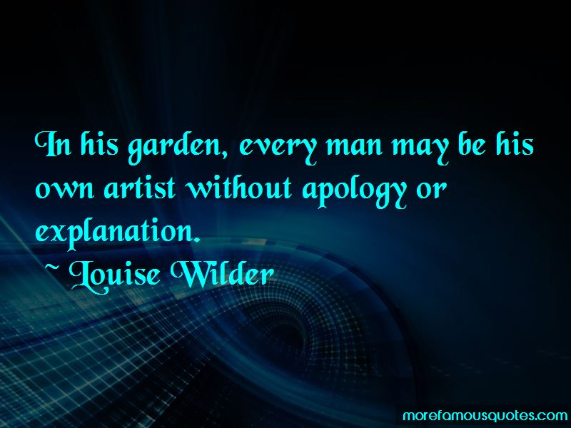 Louise Wilder Quotes Pictures 3