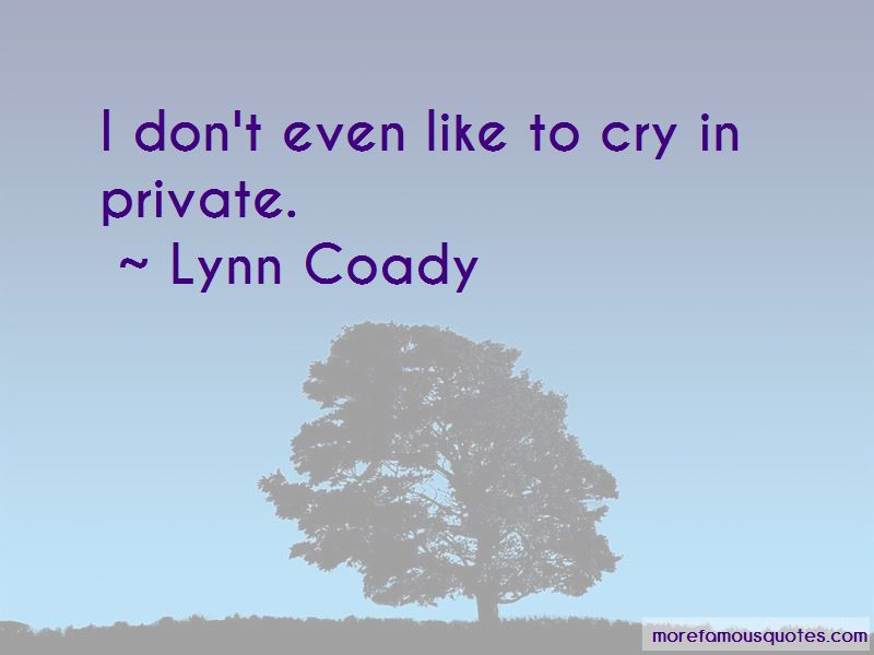 Lynn Coady Quotes