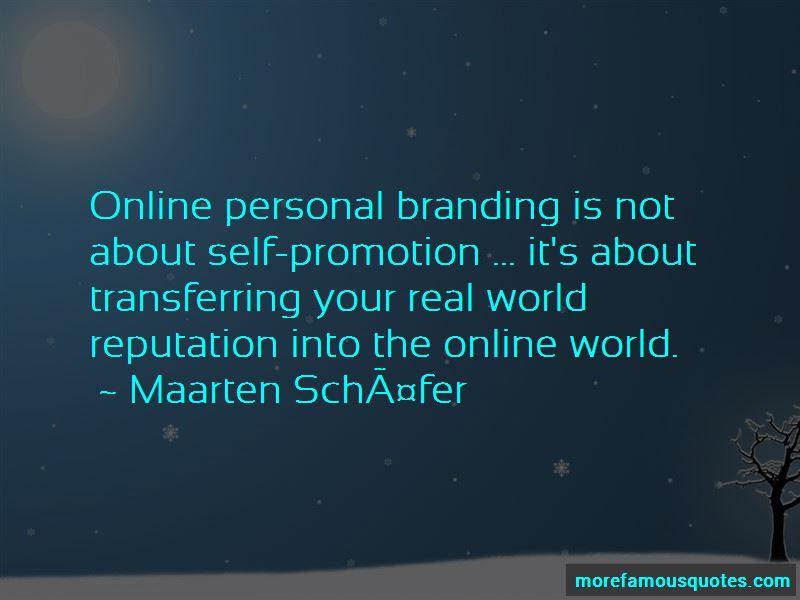 Maarten Schäfer Quotes Pictures 2