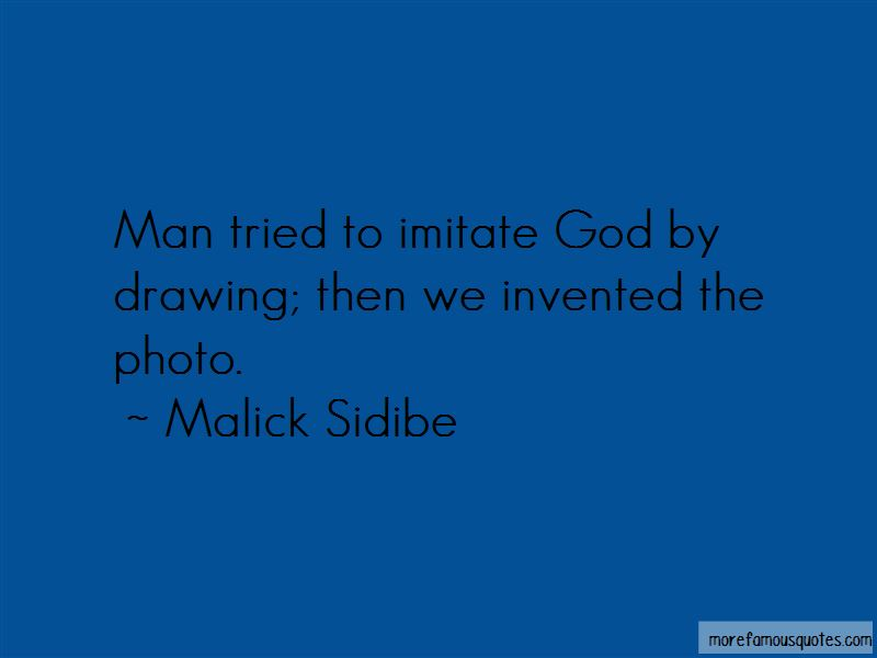 Malick Sidibe Quotes Pictures 2