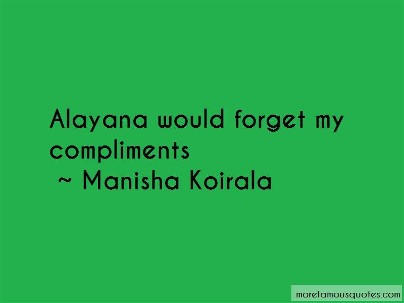 Manisha Koirala Quotes