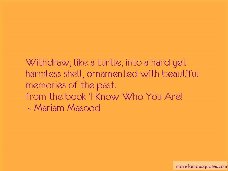Mariam Masood Quotes