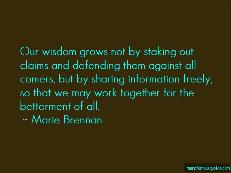 Marie Brennan Quotes Pictures 2