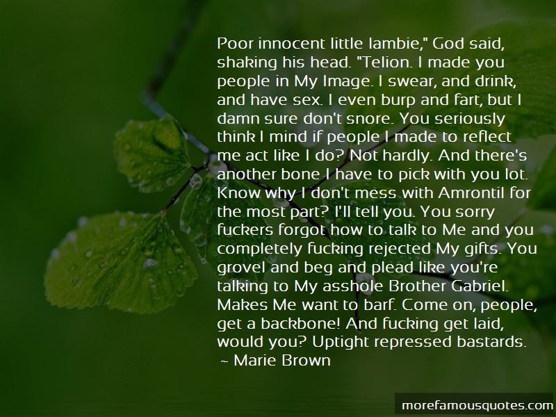 Marie Brown Quotes