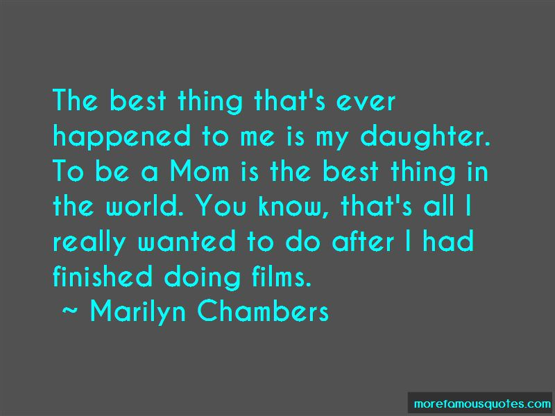 Marilyn Chambers Quotes Pictures 2