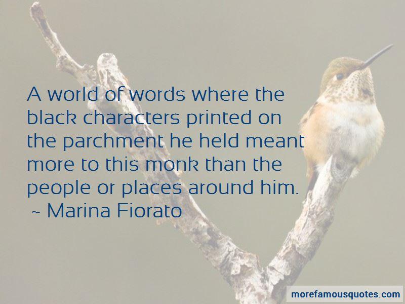 Marina Fiorato Quotes