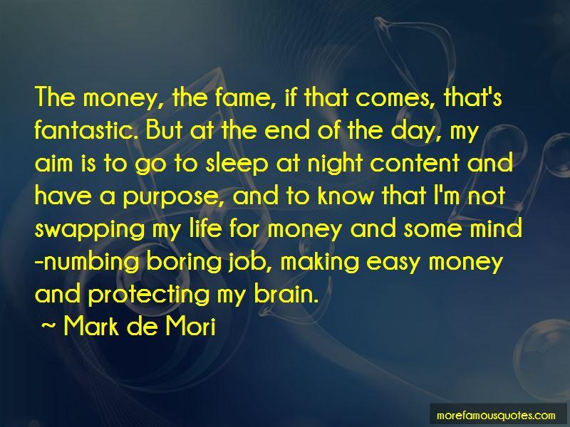 Mark De Mori Quotes