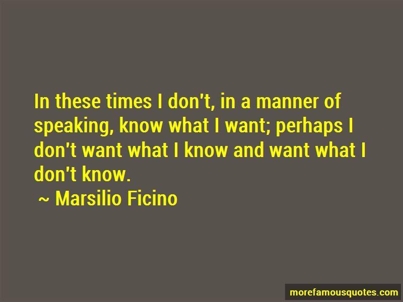 Marsilio Ficino Quotes