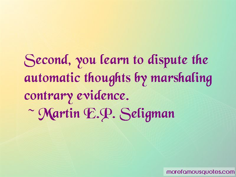 Martin E.P. Seligman Quotes Pictures 2