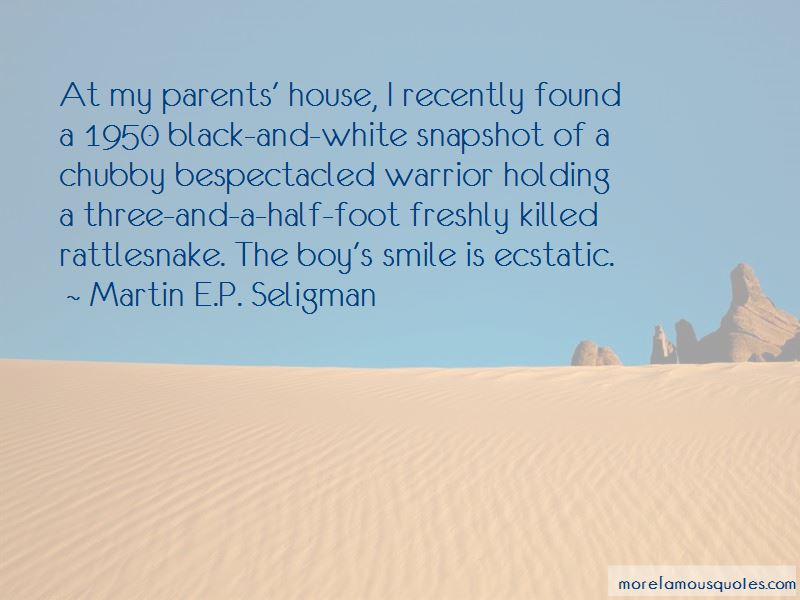 Martin E.P. Seligman Quotes Pictures 4
