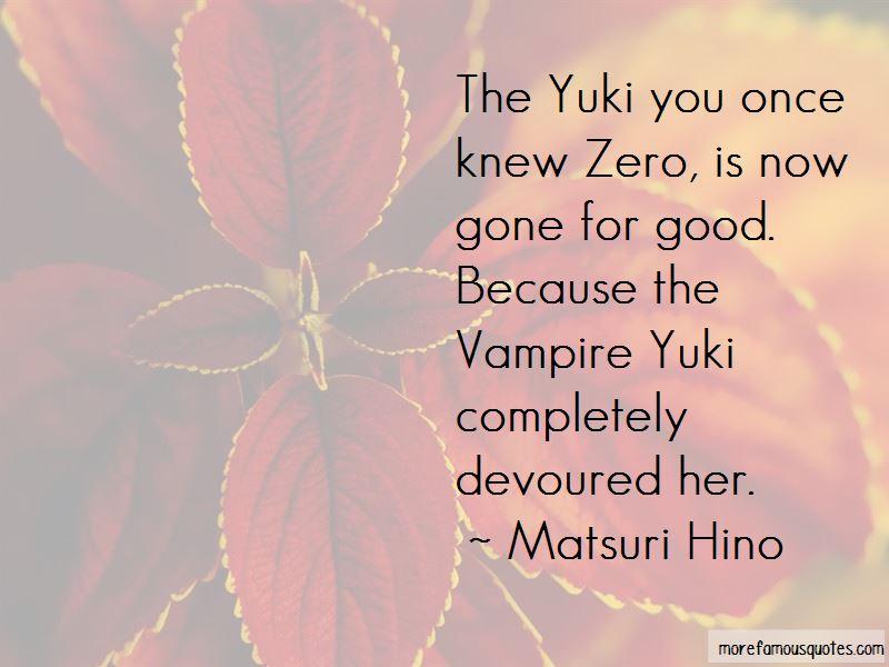 Matsuri Hino Quotes Pictures 4