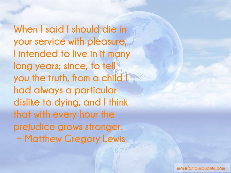 Matthew Gregory Lewis Quotes Pictures 3