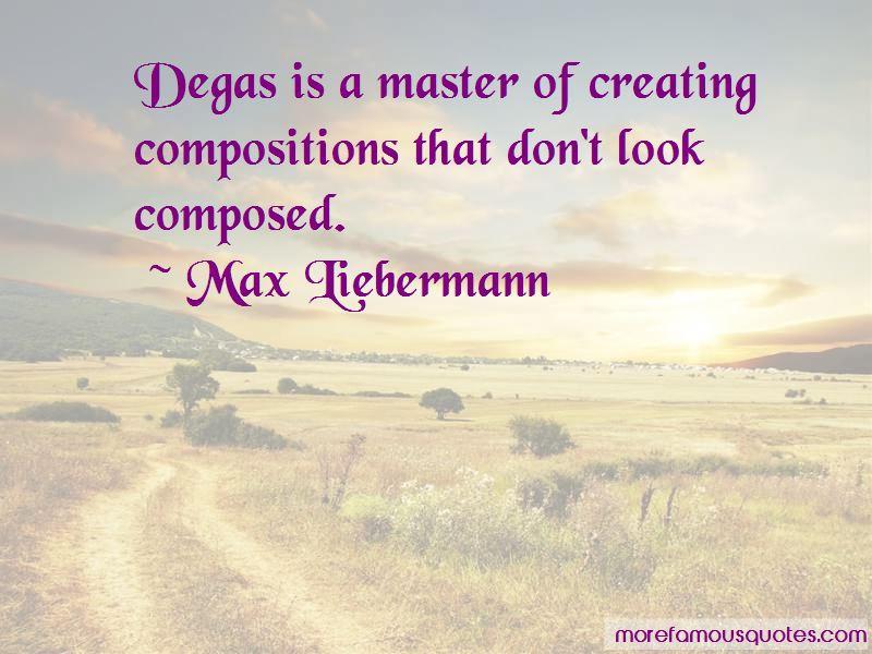 Max Liebermann Quotes