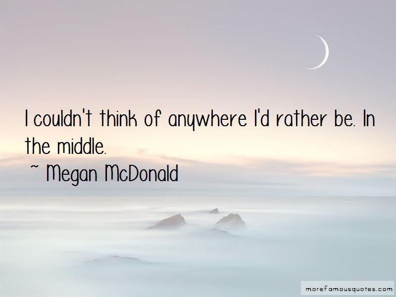 Megan McDonald Quotes Pictures 3