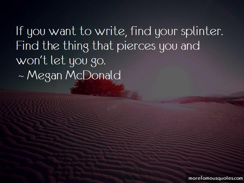 Megan McDonald Quotes Pictures 4