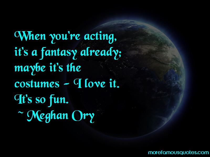 Meghan Ory Quotes Pictures 2