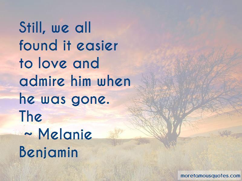Melanie Benjamin Quotes Pictures 2