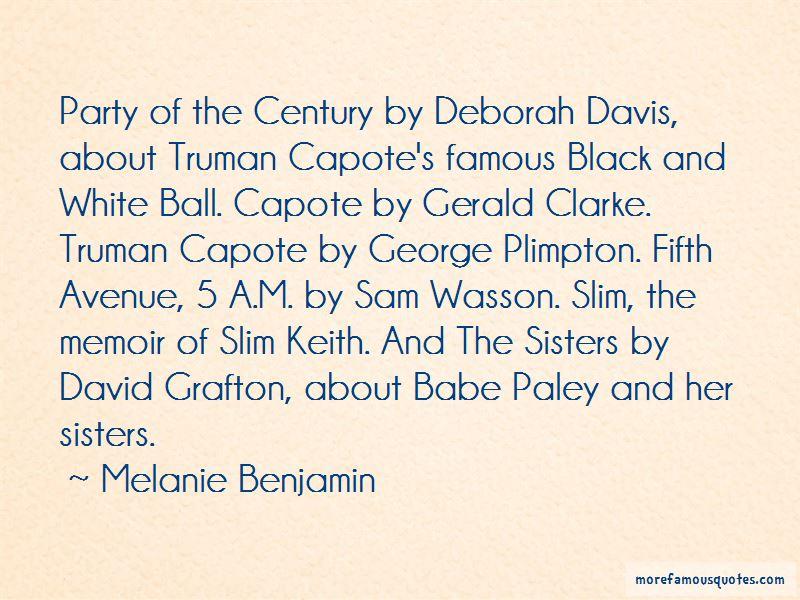 Melanie Benjamin Quotes Pictures 3