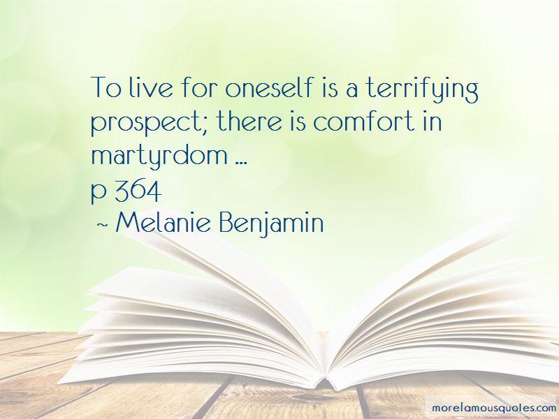 Melanie Benjamin Quotes Pictures 4