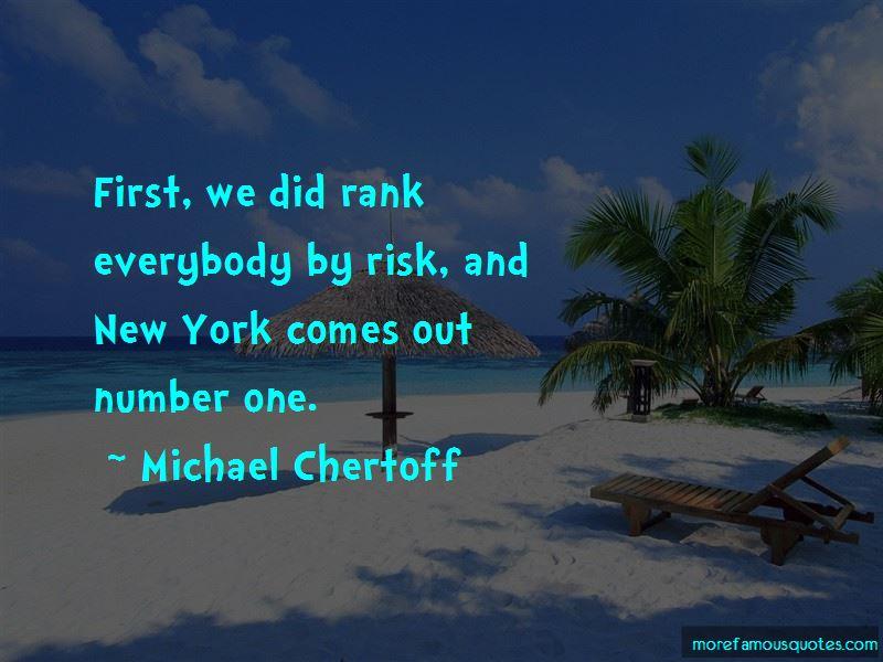 Michael Chertoff Quotes Pictures 2