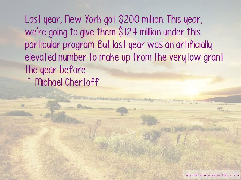 Michael Chertoff Quotes