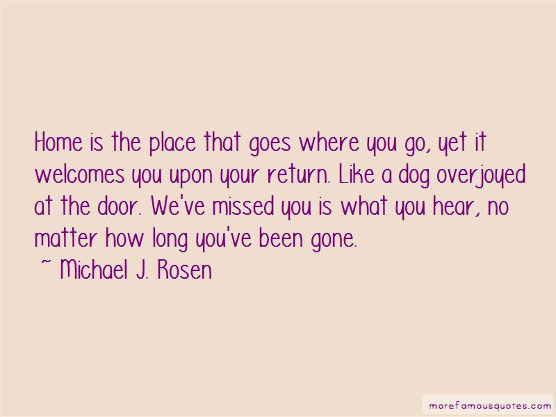 Michael J. Rosen Quotes