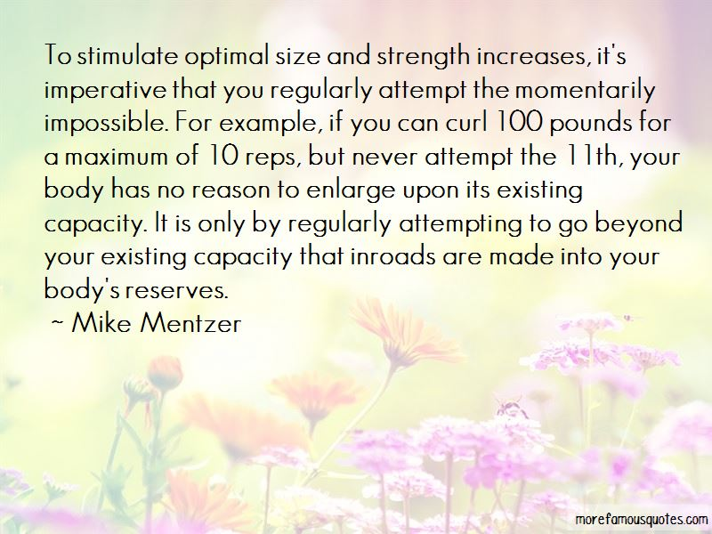 Mike Mentzer Quotes