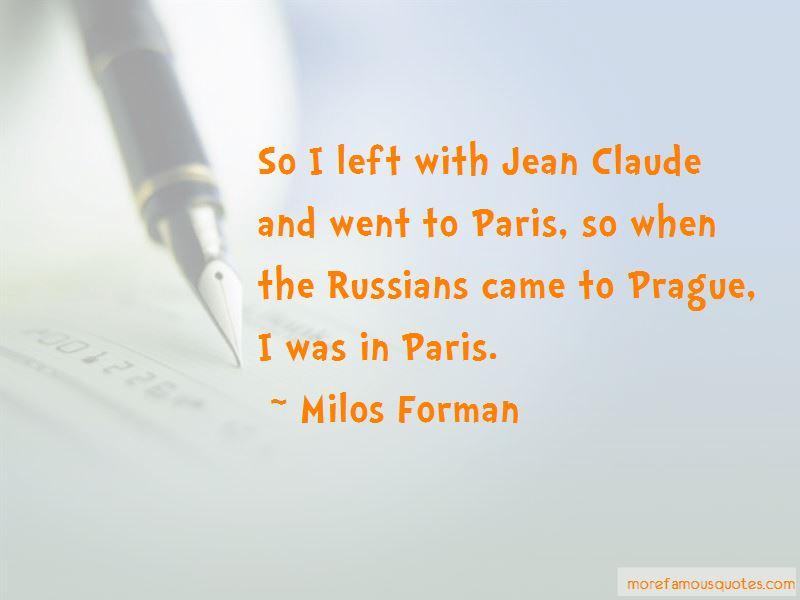 Milos Forman Quotes Pictures 4