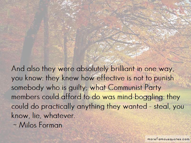 Milos Forman Quotes