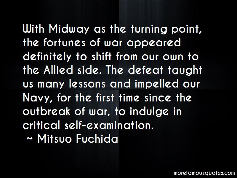 Mitsuo Fuchida Quotes