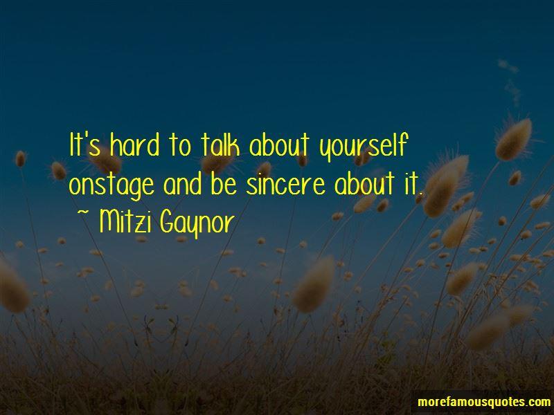 Mitzi Gaynor Quotes Pictures 3