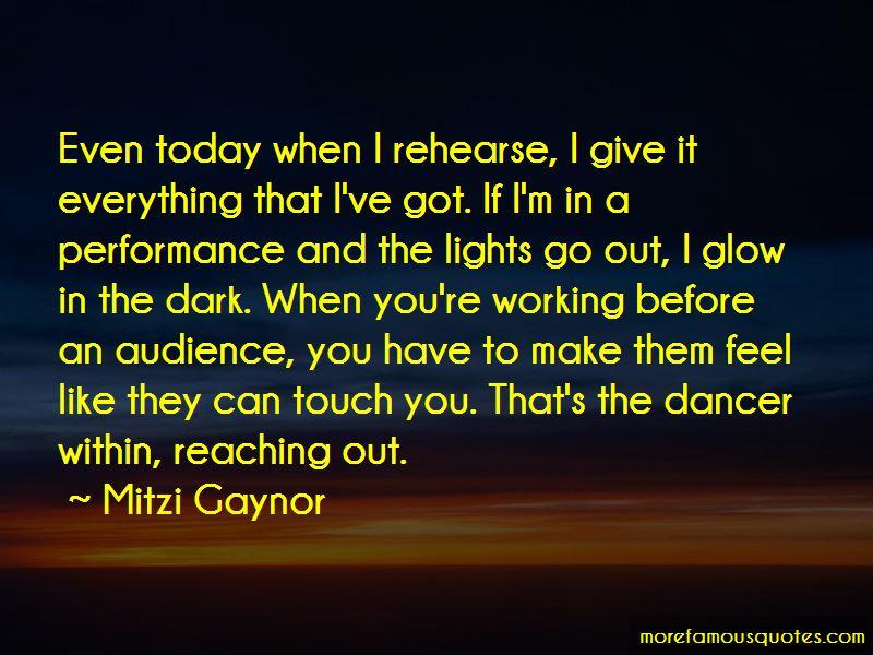 Mitzi Gaynor Quotes