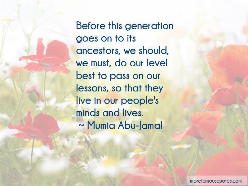 Mumia Abu-Jamal Quotes