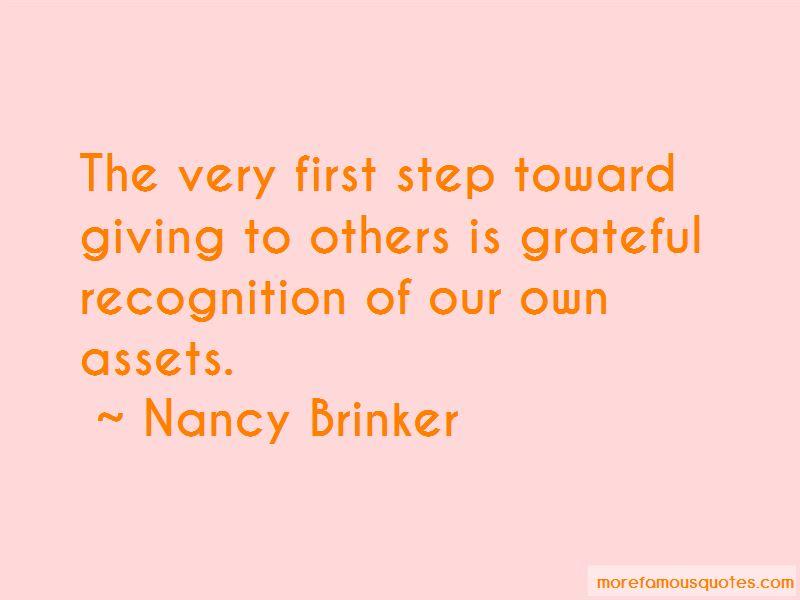 Nancy Brinker Quotes