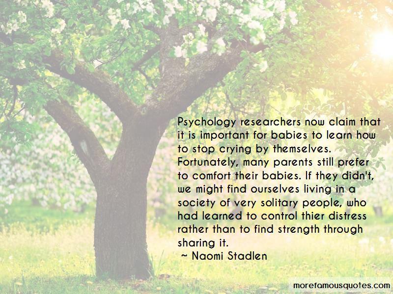 Naomi Stadlen Quotes