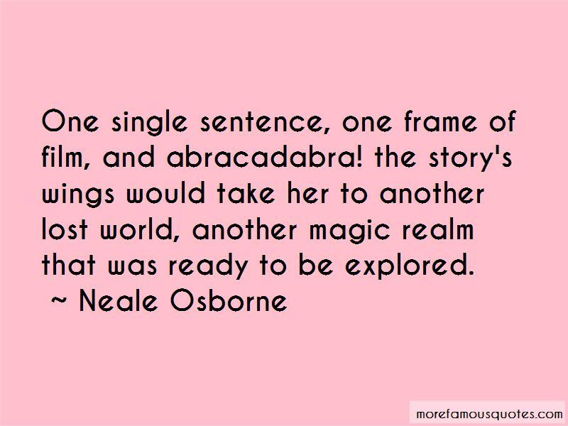 Neale Osborne Quotes