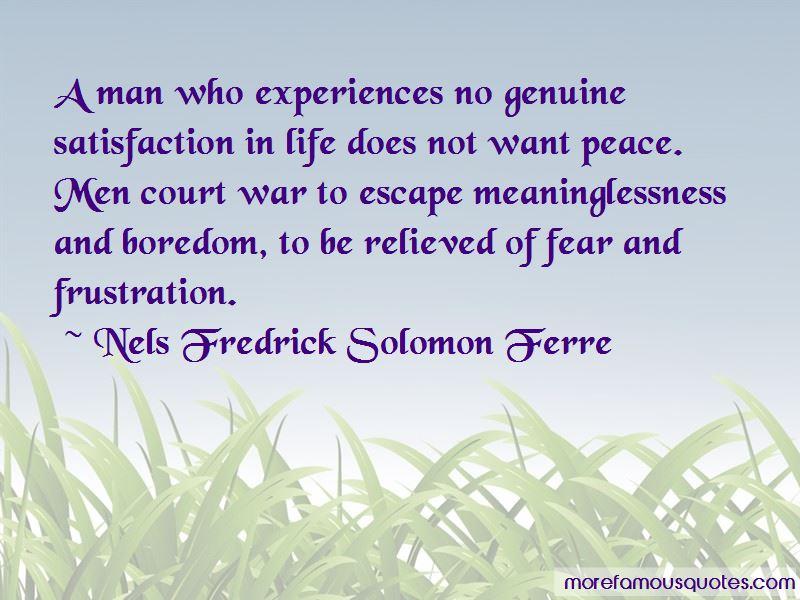 Nels Fredrick Solomon Ferre Quotes Pictures 3