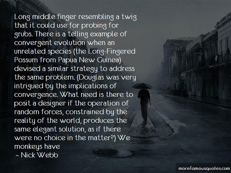 Nick Webb Quotes