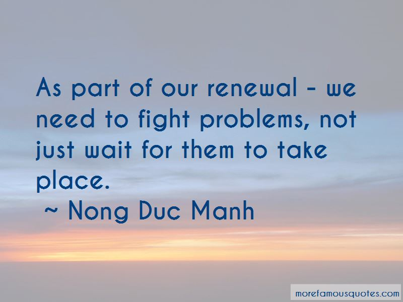 Nong Duc Manh Quotes