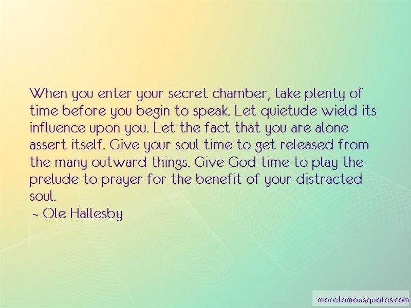 Ole Hallesby Quotes Pictures 4