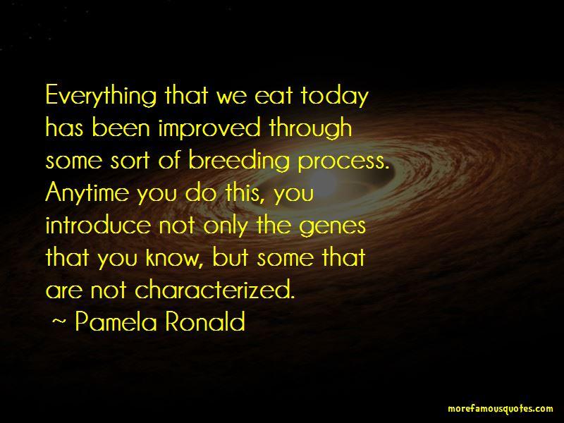 Pamela Ronald Quotes Pictures 2