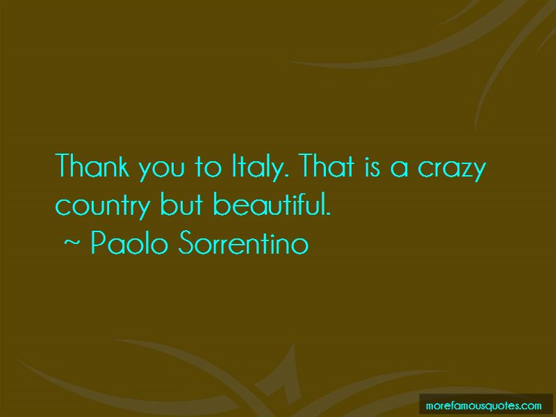 Paolo Sorrentino Quotes Pictures 2