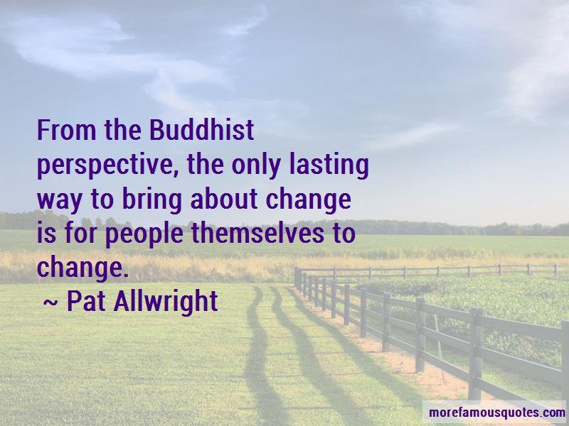Pat Allwright Quotes